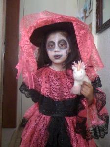 Disfraz de La Catrina